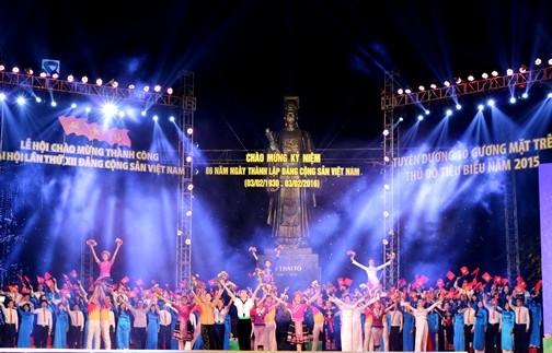 IMG 00291 1 - Lễ hội Tuổi trẻ chào mừng thành công Đại hội lần thứ XII của Đảng; kỷ niệm 86 năm Ngày thành lập Đảng Cộng sản Việt Nam