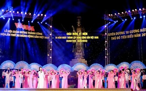 IMG 0052 1 - Lễ hội Tuổi trẻ chào mừng thành công Đại hội lần thứ XII của Đảng; kỷ niệm 86 năm Ngày thành lập Đảng Cộng sản Việt Nam