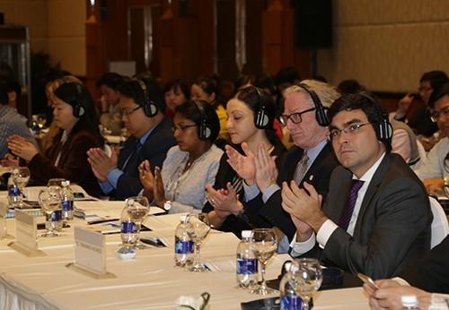 """vba 2411 1 - Hội nghị """"Chia sẻ kinh nghiệm quốc tế về chính sách phát triển thanh niên"""""""