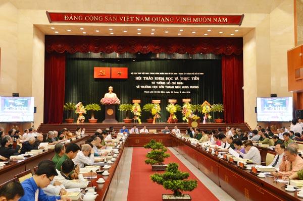 """images624236 DSC 4041 - Hội thảo khoa học và thực tiễn """"Tư tưởng Hồ Chí Minh về trường học lớn Thanh niên xung phong"""""""