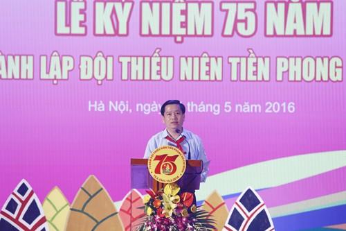 20160514202222  MG 4961 - Đảng, Nhà nước và nhân dân luôn đặt niềm tin yêu và kỳ vọng vào thế hệ thiếu niên, nhi đồng ngày nay