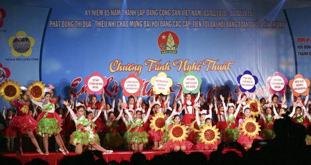 572b085a 6cffd0dd99 1 - Đội TNTP Hồ Chí Minh thực sự là tổ chức của thiếu nhi Việt Nam