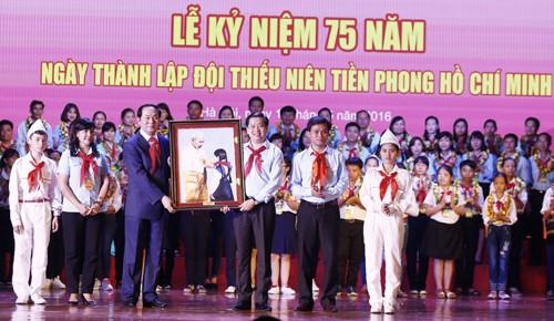 MG 5056 - Đảng, Nhà nước và nhân dân luôn đặt niềm tin yêu và kỳ vọng vào thế hệ thiếu niên, nhi đồng ngày nay
