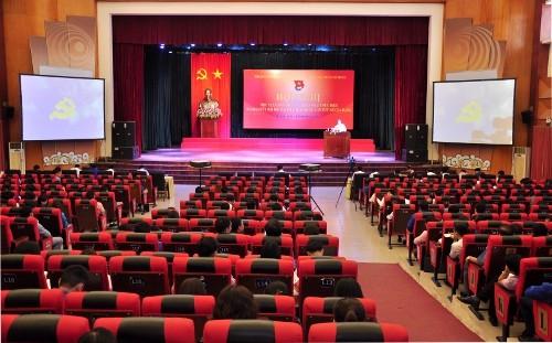 DSC06173 - Đa dạng hóa các hình thức học tập, quán triệt Nghị quyết Đại hội XII của Đảng để thanh niên có điều kiện tiếp cận