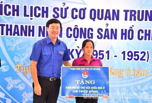 DSC09002 1 - Khánh thành Bia di tích lịch sử cơ quan Trung ương Đoàn tại Tuyên Quang