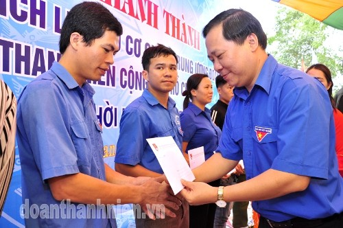 DSC09211 - Khánh thành Bia di tích lịch sử cơ quan Trung ương Đoàn tại Tuyên Quang