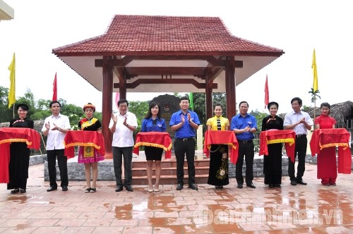 DSC09363 1 - Khánh thành Bia di tích lịch sử cơ quan Trung ương Đoàn tại Tuyên Quang