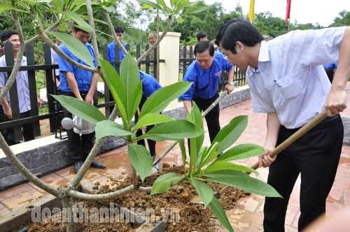 DSC0955 1 - Khánh thành Bia di tích lịch sử cơ quan Trung ương Đoàn tại Tuyên Quang