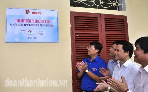 DSC09901 1 - Khánh thành Bia di tích lịch sử cơ quan Trung ương Đoàn tại Tuyên Quang