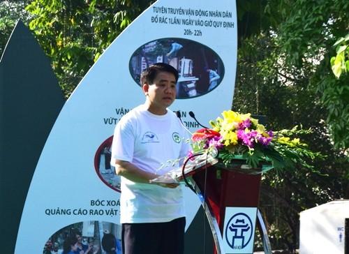 DSC 0391 1 - Phát động hưởng ứng Ngày Môi trường thế giới năm 2016 tại Hà Nội