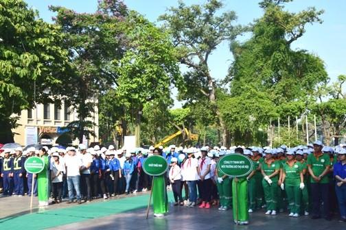 DSC 0401 1 - Phát động hưởng ứng Ngày Môi trường thế giới năm 2016 tại Hà Nội