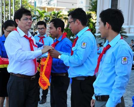 images1148407 APP 7567 1 - Hơn 2.000 đội viên tham gia lễ diễu hành nghi thức đội
