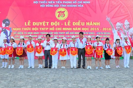 images1148408 APP 7584 1 - Hơn 2.000 đội viên tham gia lễ diễu hành nghi thức đội