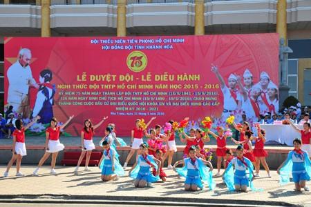 images1148409 APP 7528 1 - Hơn 2.000 đội viên tham gia lễ diễu hành nghi thức đội