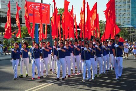 images1148411 APP 7655 1 - Hơn 2.000 đội viên tham gia lễ diễu hành nghi thức đội