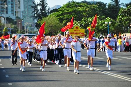 images1148412 APP 7666 1 - Hơn 2.000 đội viên tham gia lễ diễu hành nghi thức đội