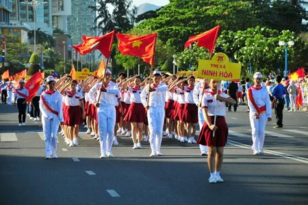 images1148413 APP 7677 1 - Hơn 2.000 đội viên tham gia lễ diễu hành nghi thức đội