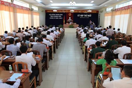 images1151139 Anh 1 - Kỳ họp thứ nhất HĐND tỉnh Khánh Hòa khóa VI, nhiệm kỳ 2016-2021