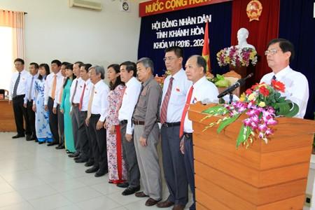 images1151144 Anh 6A - Kỳ họp thứ nhất HĐND tỉnh Khánh Hòa khóa VI, nhiệm kỳ 2016-2021