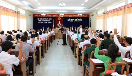 images1151149 Anh 11 - Kỳ họp thứ nhất HĐND tỉnh Khánh Hòa khóa VI, nhiệm kỳ 2016-2021