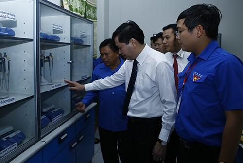 0723 - Tạo mọi điều kiện để đoàn viên, sinh viên Lào - Việt Nam được hợp tác, trao đổi kinh nghiệm