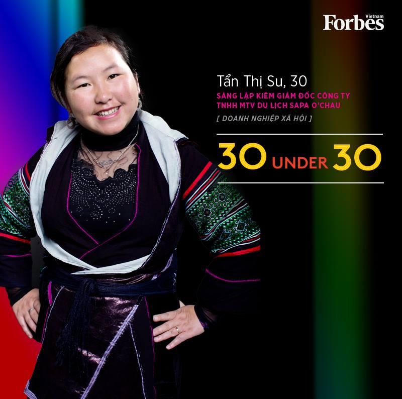 Cô gái người Mông được Forbes Vietnam vinh danh - ảnh 2