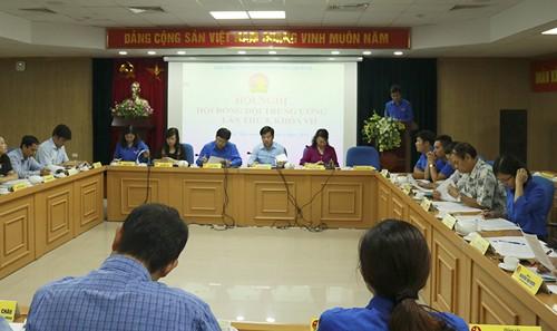 8675 - Hội nghị Hội đồng Đội Trung ương kỳ họp lần thứ 8, khóa VII