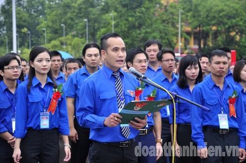 DSC019428329 445 đại biểu thanh niên tiên tiến báo công dâng Bác