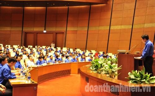 """DSC028428429 - Chủ tịch Quốc hội Nguyễn Thị Kim Ngân: Xây dựng thế hệ thanh niên thời kỳ mới có """"Tâm trong- Trí sáng- Hoài bão lớn"""""""
