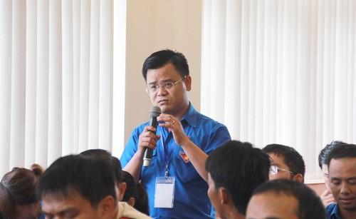 Hầu hết các đại biểu đều băn khoăn khi hội nhập quốc tế, bên cạnh những cơ hội cũng còn nhiều khó khăn, thách thức đòi hỏi thanh niên phải hoàn thiện tri thức và kỹ năng hơn nữa
