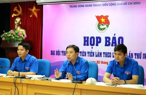 IMG_8819 Sẽ có 445 đại biểu dự Đại hội thanh niên tiên tiến làm theo lời Bác lần thứ IV, năm 2016