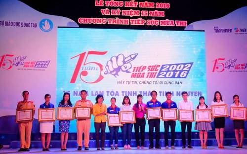 """Tuong20Long205 - """"Tiếp sức mùa thi"""" - 15 năm lan tỏa tinh thần tình nguyện"""