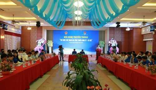 """IMG 90041 - Hội nghị truyền thông """"Trí thức trẻ tham gia phát triển kinh tế - xã hội"""""""