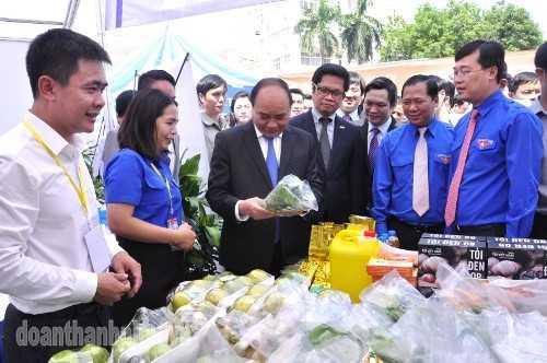 DSC1011 Ra mắt Sàn ý tưởng thanh niên nông thôn khởi nghiệp Trung ương Đoàn