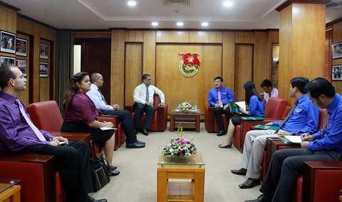 IMG_7989 Tăng tình đoàn kết, gắn bó giữa thanh niên Việt Nam - Cuba