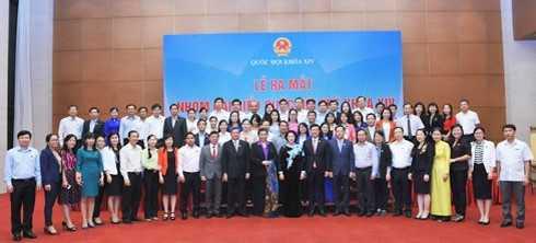 le_ra_mat_489a3_lrfc Nhóm đại biểu Quốc hội trẻ khóa XIV chính thức ra mắt tại Hà Nội