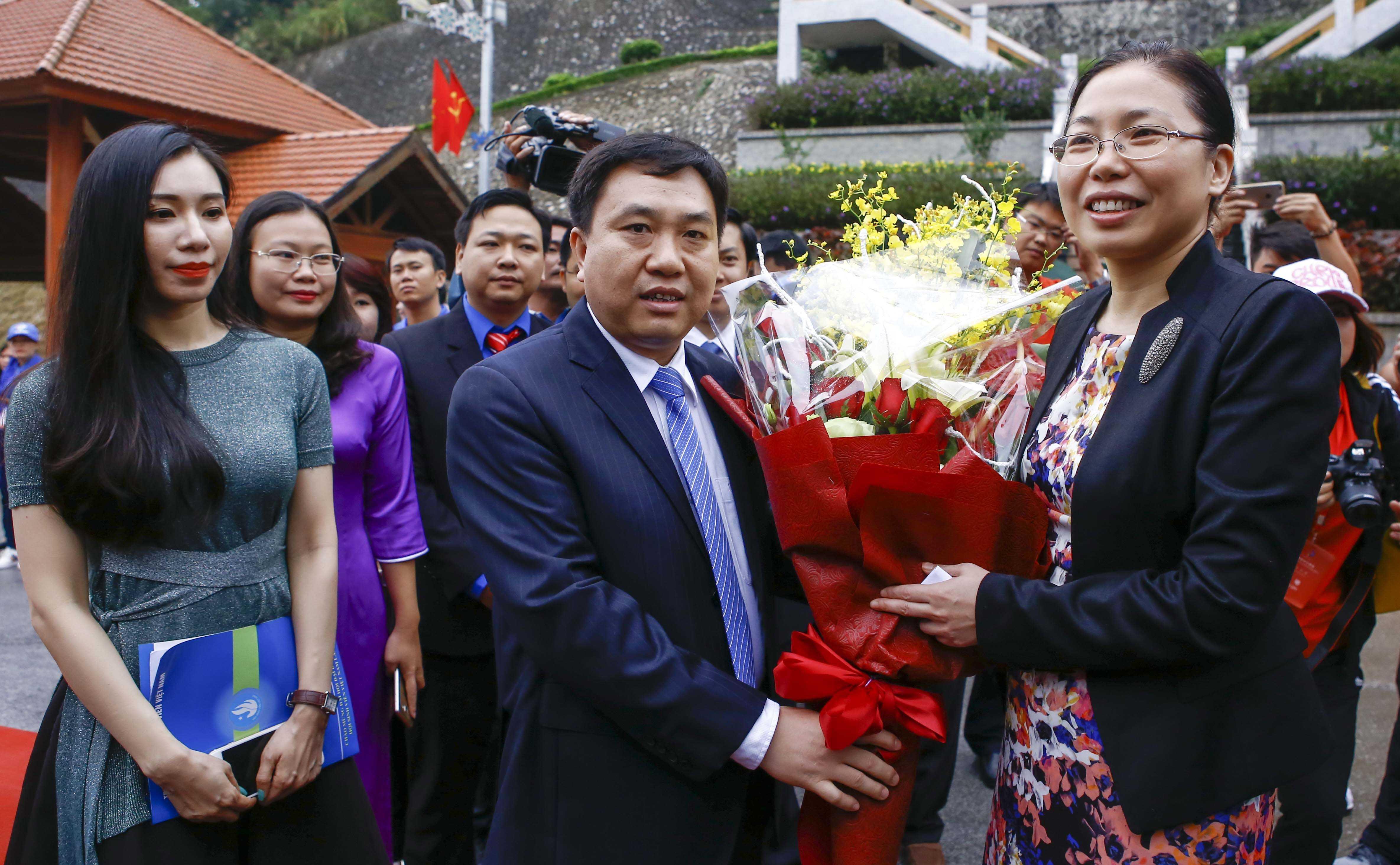 tanghoa 0278 - Khởi động Liên hoan Thanh niên Việt Nam - Trung Quốc lần thứ III