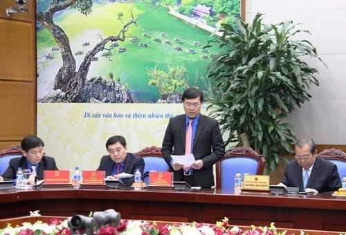 3367 Thủ tướng Chính phủ làm việc với Trung ương Đoàn TNCS Hồ Chí Minh
