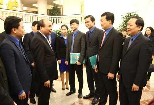 anh20610 Thủ tướng Chính phủ làm việc với Trung ương Đoàn TNCS Hồ Chí Minh