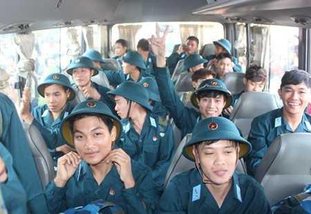 Chất lượng tuyển quân năm nay của Vạn Ninh được nâng cao.