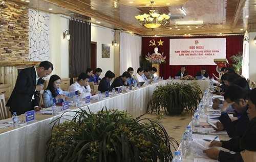 2050 - Khai mạc Hội Nghị Ban Thường Vụ T.Ư Đoàn lần thứ 18 khóa X