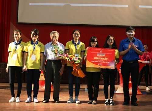 Đội tuyển đại diện cho Hà Nội xuất sắc giành chiến thắng cấp Cụm