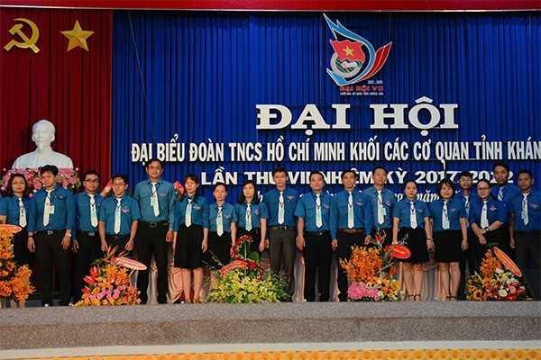 Ban Chấp hành nhiệm kỳ 2017-2022 ra mắt tại đại hội
