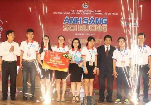 Đội tuyển Quảng Ngãi bứt phá ngoạn mục ở phần thi cuối để giành chiến thắng