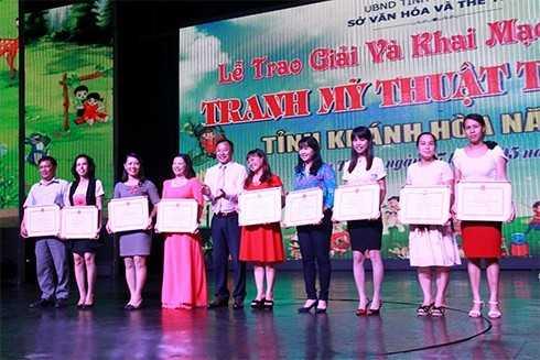 images5001477 MT1 - Giải thưởng Mỹ thuật thiếu nhi Khánh Hòa 2017: 75 tác phẩm được trao giải Vàng