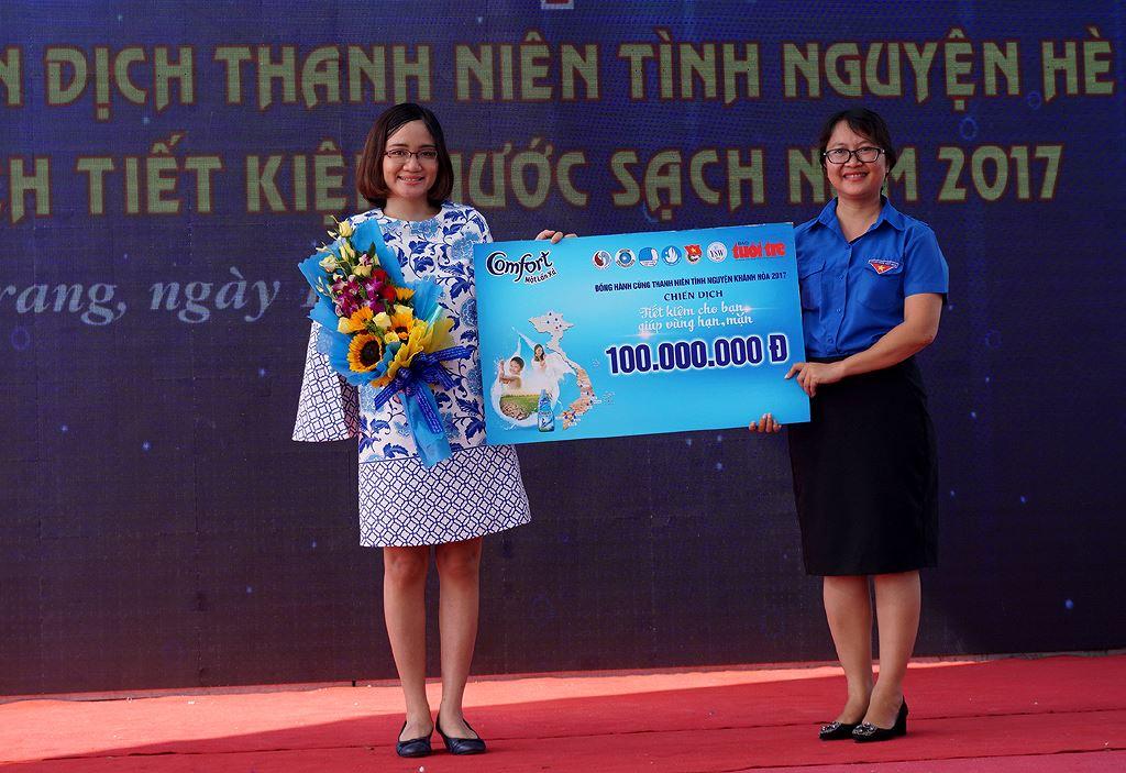 donghanh ykty - Khánh Hòa ra quân Thanh niên tình nguyện, Tiết kiệm nước sạch