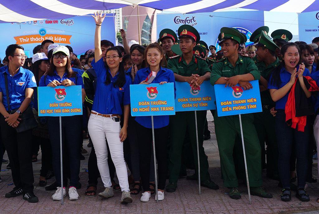 haohung wliy - Khánh Hòa ra quân Thanh niên tình nguyện, Tiết kiệm nước sạch