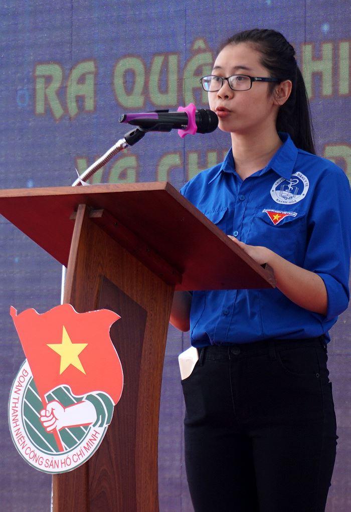 quyettam dxjj - Khánh Hòa ra quân Thanh niên tình nguyện, Tiết kiệm nước sạch