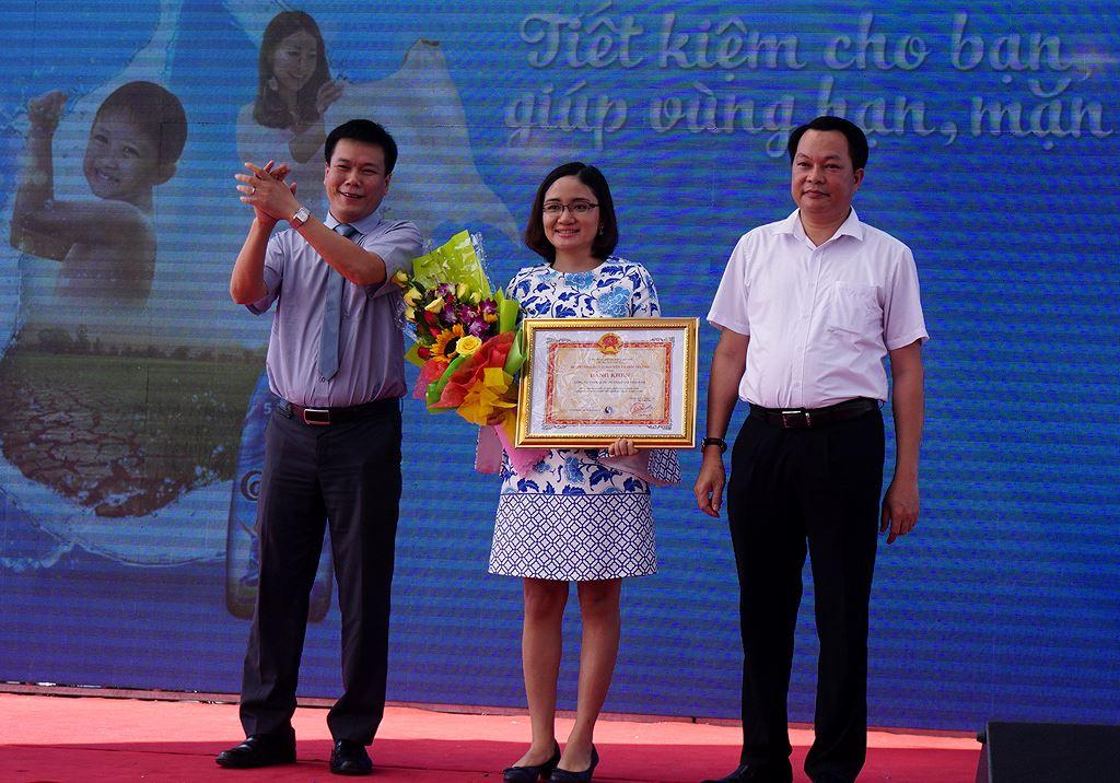 tietkiemnuoc vyeo - Khánh Hòa ra quân Thanh niên tình nguyện, Tiết kiệm nước sạch