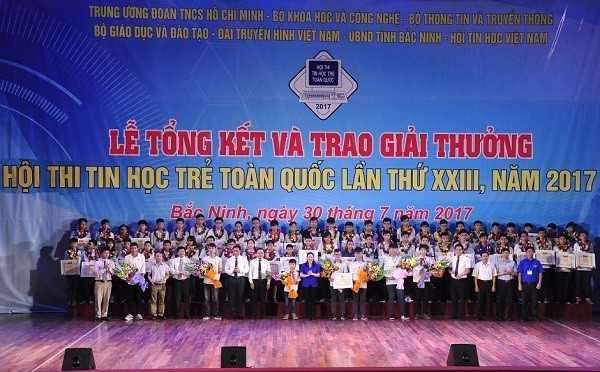 Tong ket Hoi thi Tin hoc tre toan quoc 2017 Chup anh luu niem - Tổng hợp kết quả Hội thi Tin học trẻ toàn quốc năm 2017